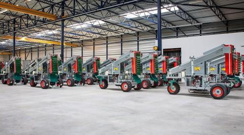 Machinefabriek Munckhof Fruit Tech Innovators, Horst