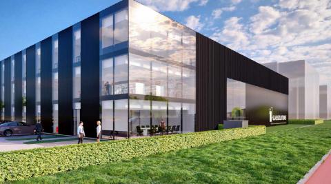 Nieuwbouw showcaselocatie Glassolutions Arnhem